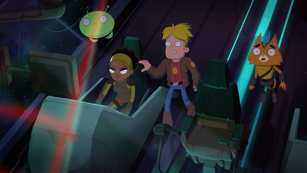 Final Space Quad HD Background