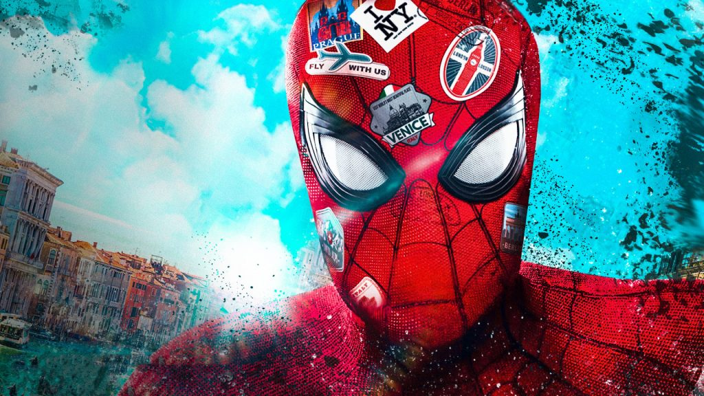 Spider-Man: Far From Home HD Full HD Background