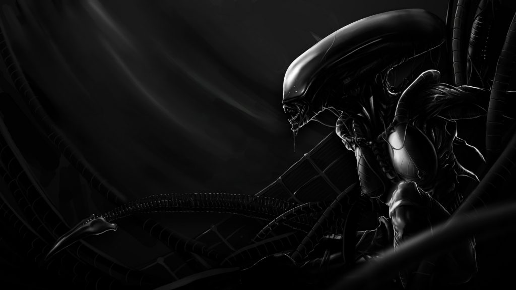 Alien HD Background