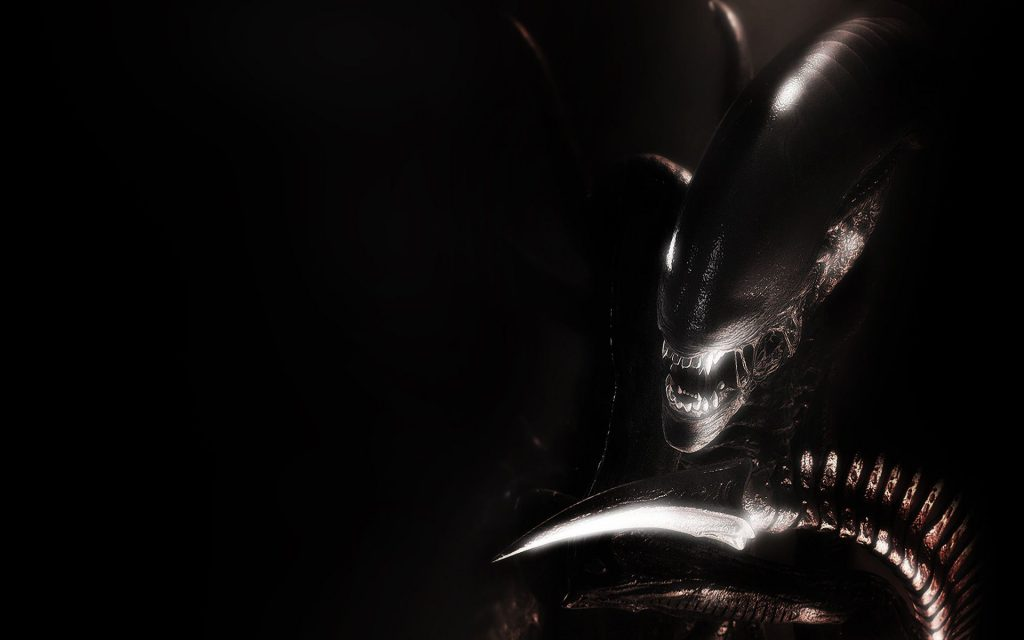 Alien HD Widescreen Background