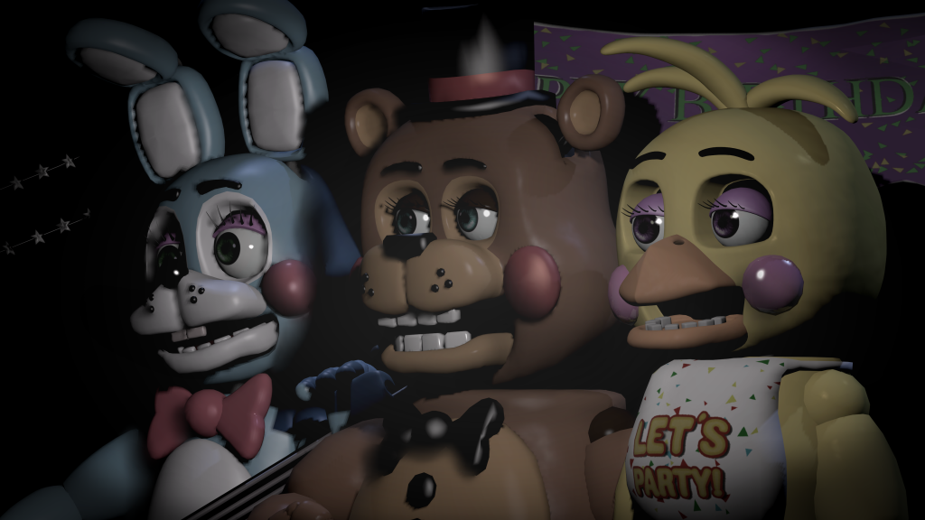 Five Nights At Freddy's 2 4K UHD Wallpaper
