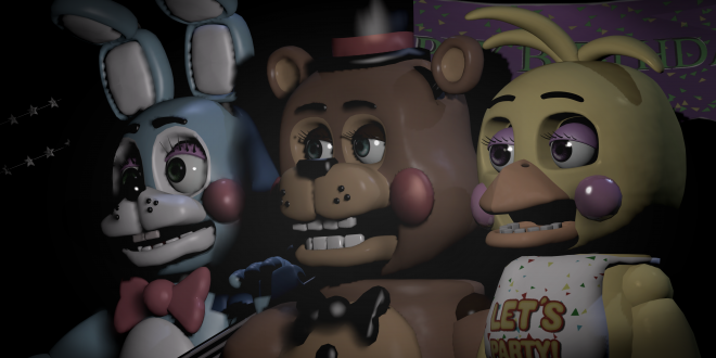 Five Nights At Freddy's 2 Wallpapers