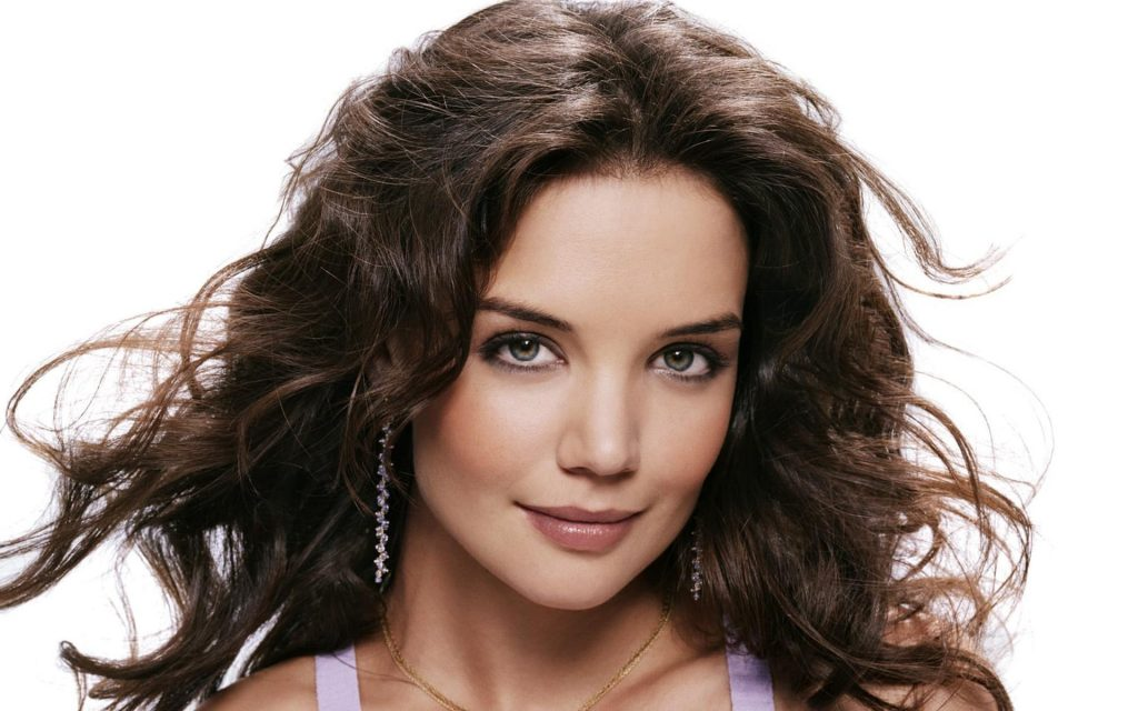 Katie Holmes HD Widescreen Background