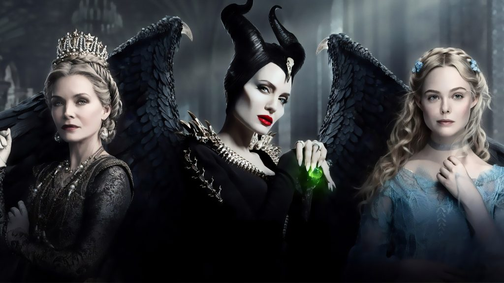 Maleficent Quad HD Background