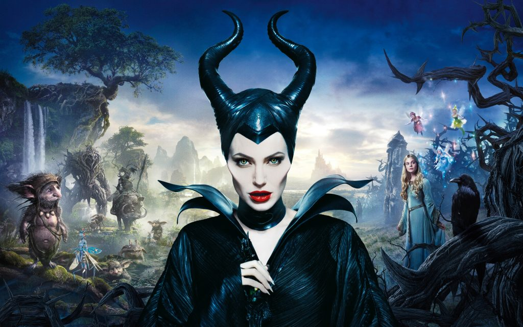 Maleficent Widescreen Background