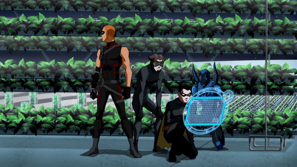 Young Justice Full HD Background