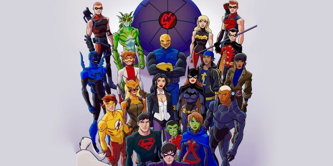 Young Justice Backgrounds
