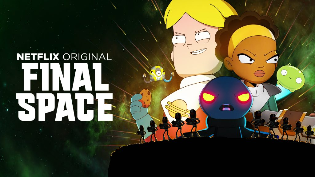 Final Space HD Dual Monitor Background