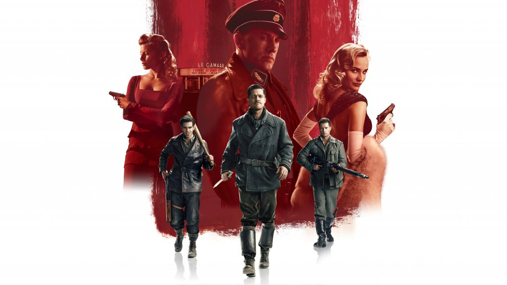 Inglourious Basterds Quad HD Background