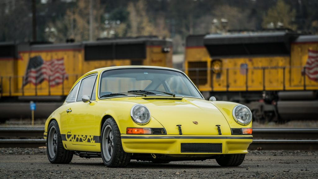 Porsche 911 Carrera T Dual Monitor Wallpaper