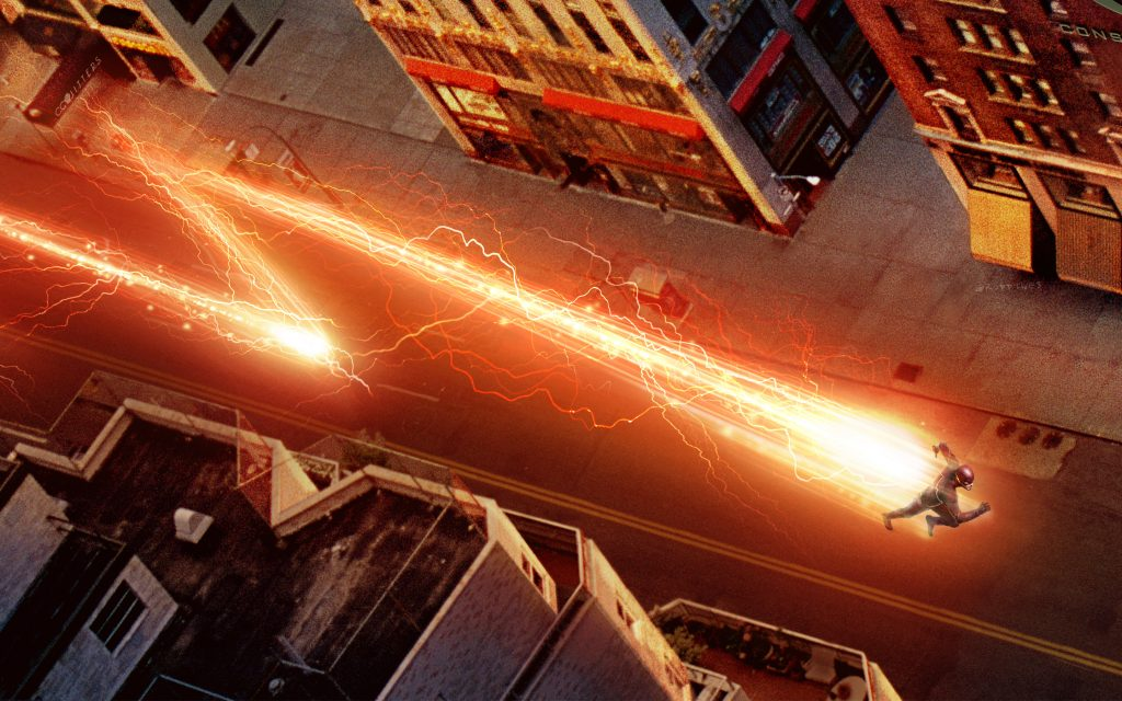 The Flash (2014) HD Widescreen Background