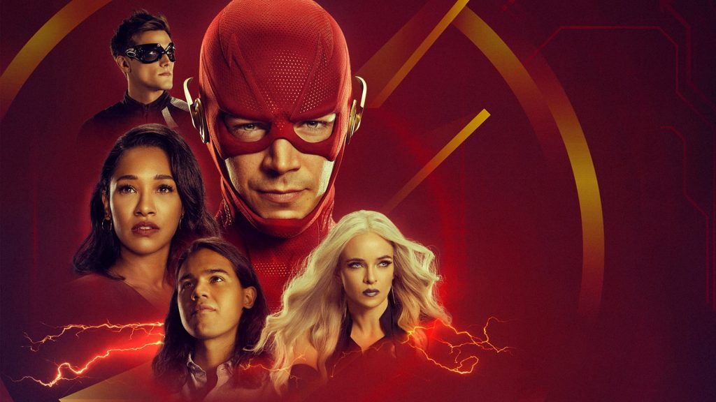 The Flash (2014) HD Full HD Background