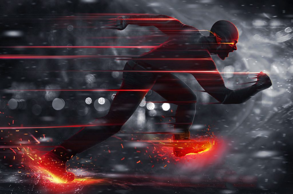 The Flash (2014) HD Background